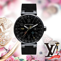 《Louis Vuitton》★CONNECTED TAMBOUR HORIZON BLACK 42★