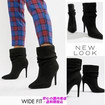 New Look Wide Fit Stiletto High Leg Heeled Boot♪