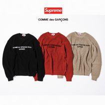 FW18 Supreme x Comme des Garcons Cotton Sweater - セーター