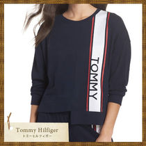 SALE Tommy Hilfiger ロゴ入り アシンメトリートップス