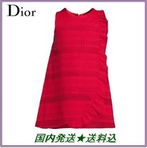 18AW★上品 フリル ワンピース ピンク★Dior★国内発送