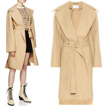 18-19AW C383 DOUBLE FACE WOOL MELTON BELTED COAT