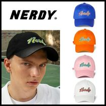 ☆NERDY☆ 帽子 Washed Multi Color Embroidery Ball Cap 5色