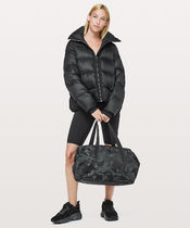 LULULEMON◆Out Of Range Bag 28L◆JC Cotton Obsidian/Black
