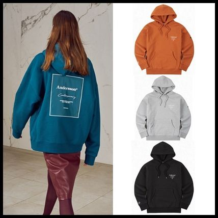 ANDERSSON BELL パーカー・フーディ ☆ANDERSSON BELL☆ UNISEX ANDERSSON SIGNATURE PATCH HOODIE