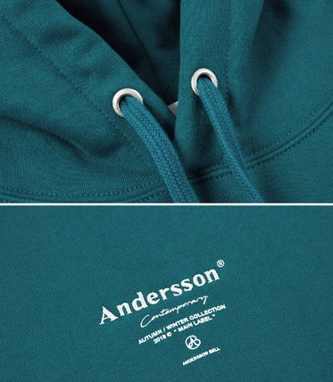 ANDERSSON BELL パーカー・フーディ ☆ANDERSSON BELL☆ UNISEX ANDERSSON SIGNATURE PATCH HOODIE(18)