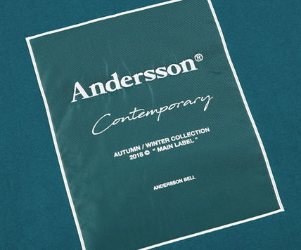 ANDERSSON BELL パーカー・フーディ ☆ANDERSSON BELL☆ UNISEX ANDERSSON SIGNATURE PATCH HOODIE(19)