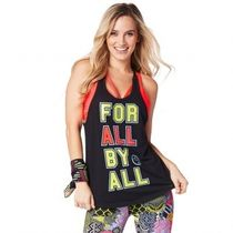 ★国内発送★ ズンバ Zumba For All Tank Bold Black