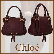 【関送込】品薄◆VIP価格◆Chloe◆MARCIE◆Grained leather bag