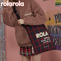 ★rolarola★ ROLA CHECK CROSS BAG_BG-18706
