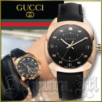★送料関税追跡込★GUCCI GG2570 Rose Gold Watch YA142407