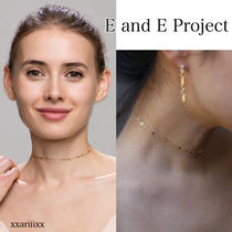 ◆NEW◆E and E Project◆14KGF Chain Laceチョーカー / 2 sizes