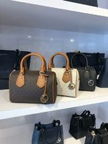 【即発3-5日着】Michael Kors◆LOGO ARIA SMALL SATCHEL◆2ways