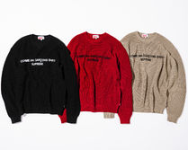 4 WEEK Supreme FW 18 Comme des Garcons Cotton Sweater
