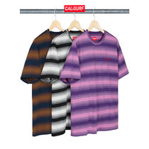 【WEEK4】AW18 Supreme GRADIENT STRIPED S/S TOP/S size