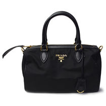 プラダ ハンドバッグ 1BB797 TESSUTO+SOFT CALF NERO (bag-6263)