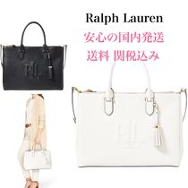 *国内発送* サチェル Ralph Lauren Anstey Double Zip Satchel