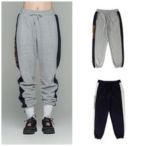 日本未入荷ROMANTIC CROWNのSide Logo Fleece Track Pants 全2色