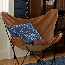 レザー Sling Chair ☆ PB TEEN☆ Leather Butterfly  Chair