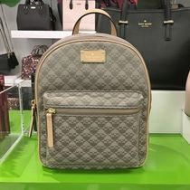 【kate spade】新作☆スペード柄 fablic small bradley backpack