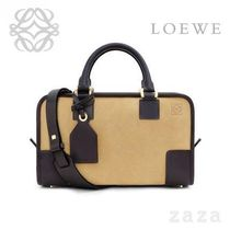 LOEWE★ロエベ Amazona 28 Bag Gold/Brown