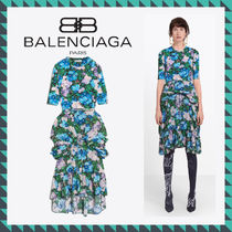 18-19AW新作 BALENCIAGA DRESS WITH ATHLETIC STYLE TOP