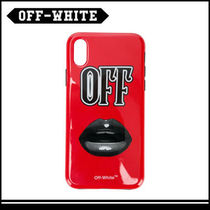 OFF-WHITE Lips iPhone X ケース