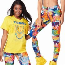2点/ZUMBA/ズンバ/ForAllFringeTop&UnityPerfectLongLeggings