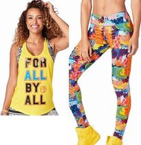 2点/ZUMBA/ズンバ/ForAllTank&UnityPerfectLongLeggings