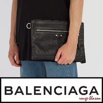 【国内発送】Balenciaga ポーチ Classic City Medium leather