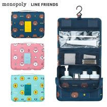 monopoly×LINE FRIENDS★TOILETRY POUCH