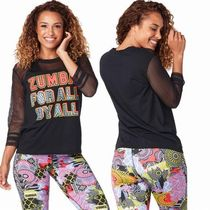 ☆ZUMBA・ズンバ☆For All Top BK