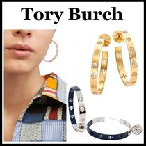 Tory Burch◆ピアス Dipped Pierced-T Hoop Earrings ギフト包装