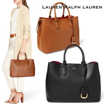 【セール!】Ralph Lauren* Leather Marcy Satchel