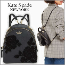 【Kate Spade】ブラックローズが上品♪『Flock Roses Binx』