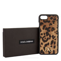 【18-19AW 秋冬最新作 DOLCE&GABBANA】Leopard iPhone 7/8 Case