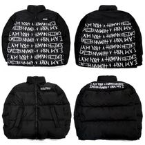 I AM NOT A HUMAN BEINGのBASIC DUCK DOWN JACKET (REVERSIBLE)