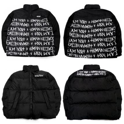 I AM NOT A HUMAN BEING ダウンジャケット I AM NOT A HUMAN BEINGのBASIC DUCK DOWN JACKET (REVERSIBLE)