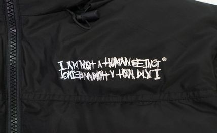 I AM NOT A HUMAN BEING ダウンジャケット I AM NOT A HUMAN BEINGのBASIC DUCK DOWN JACKET (REVERSIBLE)(7)