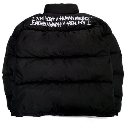 I AM NOT A HUMAN BEING ダウンジャケット I AM NOT A HUMAN BEINGのBASIC DUCK DOWN JACKET (REVERSIBLE)(12)