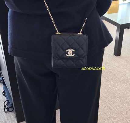 CHAIN CLUTCH チェーンポシェット シャネル 国内発送 2018AW