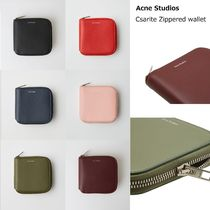 [Acne] Csarite leather wallet レザーウォレット
