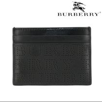 VIP価格【BURBERRY】PERFORATED CREDIT CARD HOLDER 関税