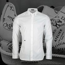 **DIOR**2018‐19AW DIOR EMBROIDERED BEE SHIRT WHITE シャツ