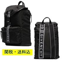 GIVENCHY(ジバンシィ) バックパック・リュック 関税送料込【GIVENCHY】ライト3 ロゴ バックパック