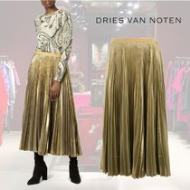 【18AW】★Dries Van Noten★pleated midi skirt