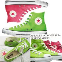 限定☆AURALEE × CONVERSE for BEAUTY&YOUTH☆ALL STAR HI