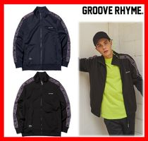 GROOVE RHYME(グルーヴライム) アウターその他 人気【GROOVE RHYME】☆JERSEY RUSSELL LOGO TAPE SET TOP☆2色