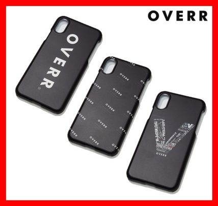 OVERR スマホケース・テックアクセサリー 韓国の人気★【OVERR】★18FW SYNTHESIZE PHONE CASE★IPHONE X