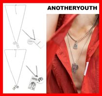韓国の人気☆【ANOTHERYOUTH】☆2 Pendant Necklace☆UNISEX☆